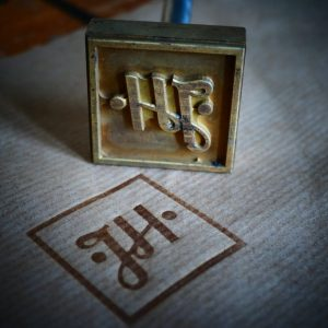 Branding stamps J.H. Machining