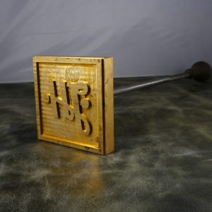 J.H Machining branding iron