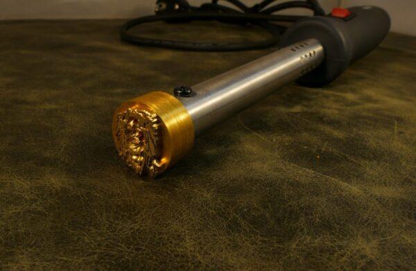Elektrische brandstempel rond 25mm